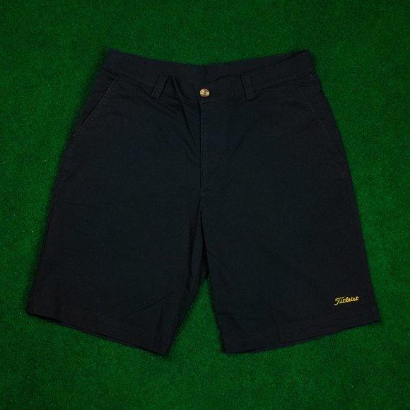 Titleist Black Shorts w/ Yellow Highlights